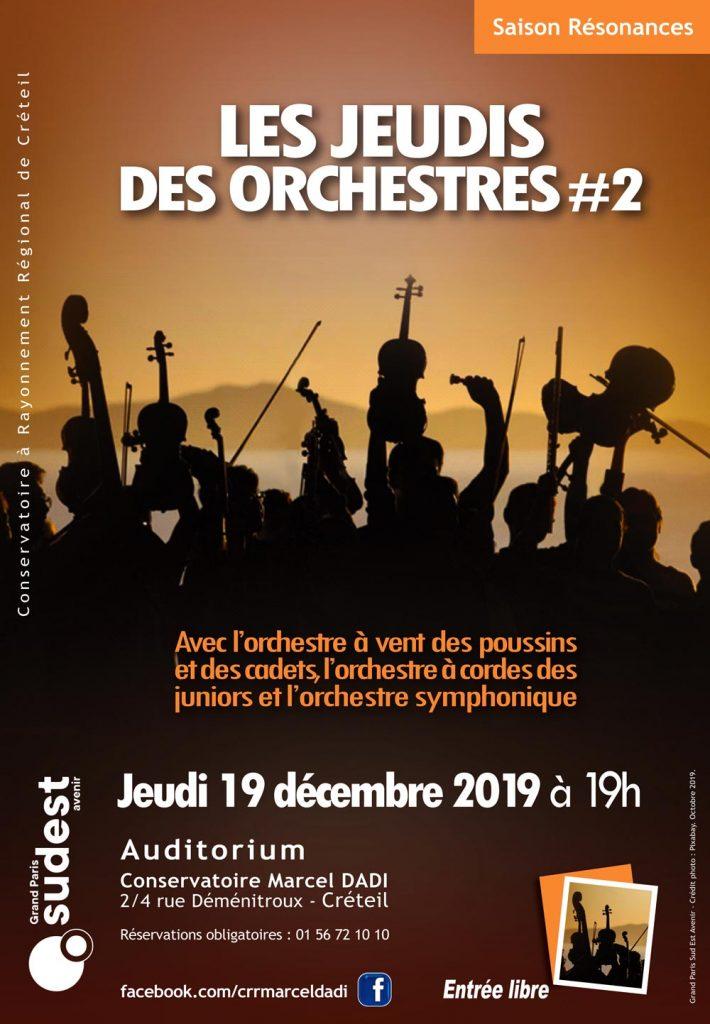 affiche les jeudis des orchestres #2
